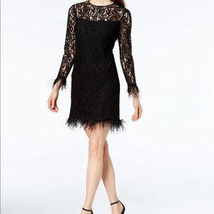 NWT Calvin Klein lace cocktail dress